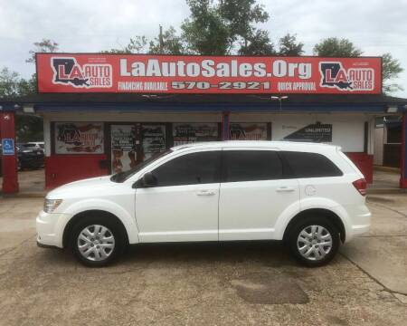 2015 Dodge Journey for sale at LA Auto Sales in Monroe LA