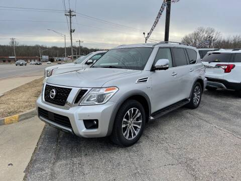 2019 Nissan Armada for sale at Greg's Auto Sales in Poplar Bluff MO