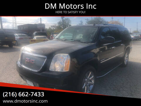2011 GMC Yukon XL for sale at DM Motors Inc in Maple Heights OH