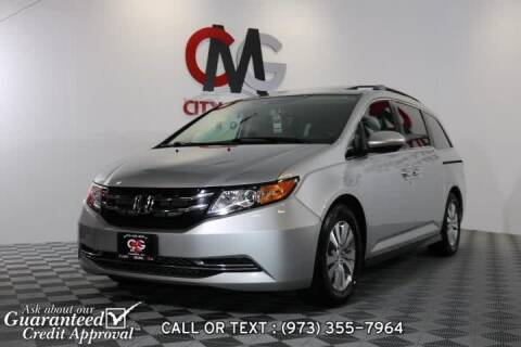 2015 Honda Odyssey for sale at City Motor Group, Inc. in Wanaque NJ