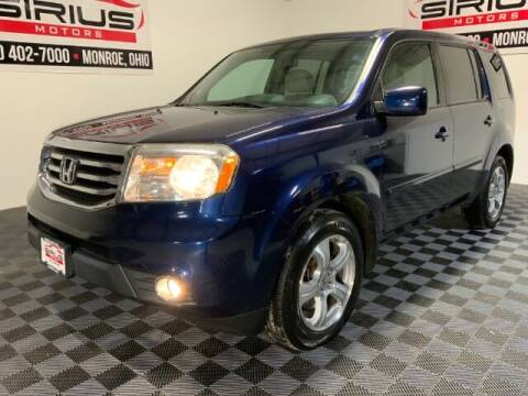 2014 Honda Pilot for sale at SIRIUS MOTORS INC in Monroe OH