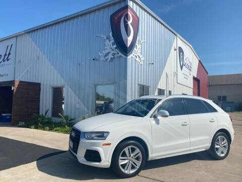 2016 Audi Q3 for sale at Barrett Auto Gallery in San Juan TX