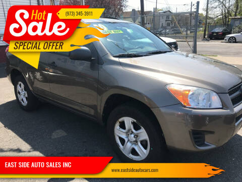 2010 Toyota RAV4 for sale at EAST SIDE AUTO SALES INC in Paterson NJ