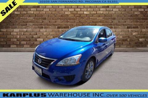2013 Nissan Sentra for sale at Karplus Warehouse in Pacoima CA