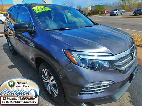 2018 Honda Pilot for sale at Jon's Auto in Marquette MI