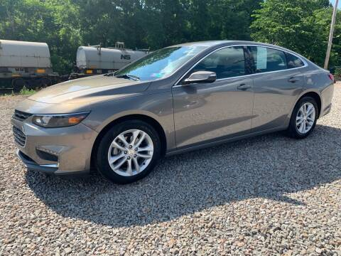 2018 Chevrolet Malibu for sale at Reds Garage Sales Service Inc in Bentleyville PA
