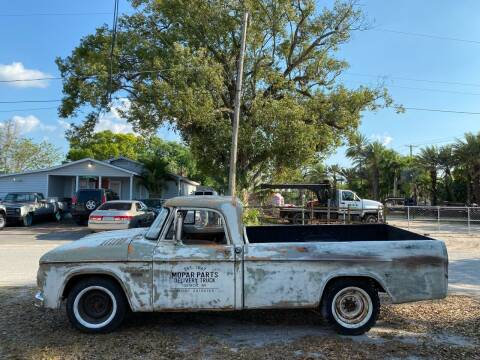 1967 Dodge D150 Pickup for sale at OVE Car Trader Corp in Tampa FL