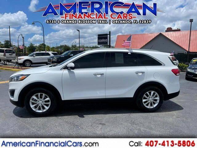 2016 Kia Sorento for sale at American Financial Cars in Orlando FL