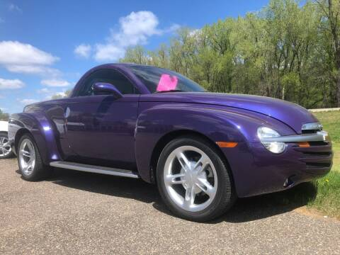 2004 Chevrolet SSR for sale at Triple R Sales in Lake City MN