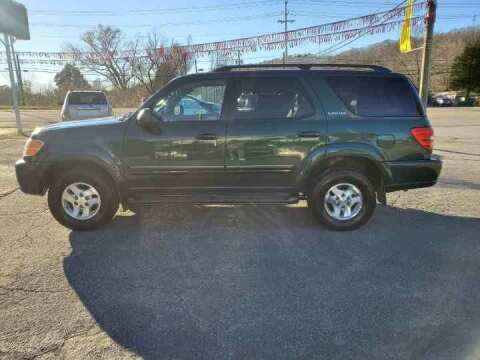 2002 Toyota Sequoia for sale at Knoxville Wholesale in Knoxville TN