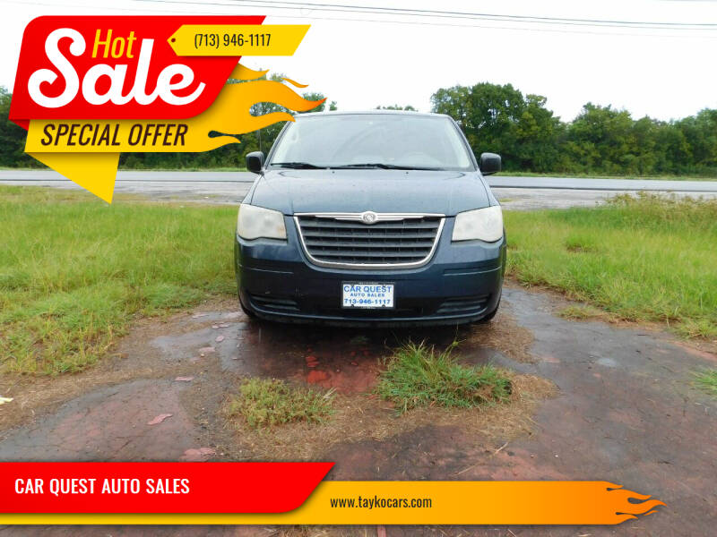 2008 Chrysler Town and Country for sale at CAR QUEST AUTO SALES in Houston TX