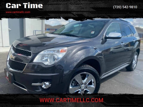 2013 Chevrolet Equinox for sale at Car Time in Denver CO