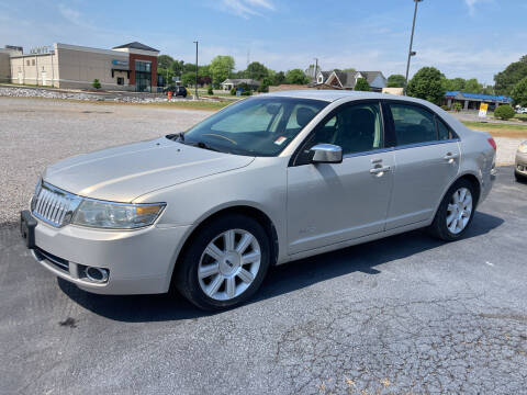 2009 Lincoln MKZ for sale at McCully's Automotive - Under $10,000 in Benton KY