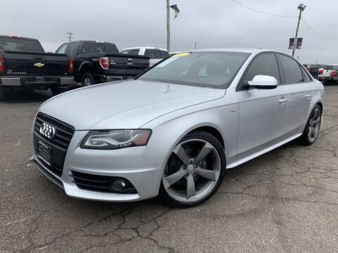 2012 Audi A4 for sale at Superior Auto Mall of Chenoa in Chenoa IL