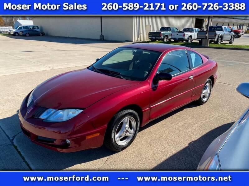2005 Pontiac Sunfire for sale at Moser Motors Of Portland in Portland IN
