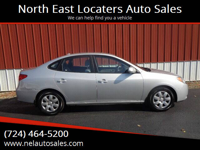 2008 Hyundai Elantra for sale at North East Locaters Auto Sales in Indiana PA