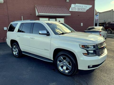 2015 Chevrolet Tahoe for sale at Middle Tennessee Auto Brokers LLC in Gallatin TN