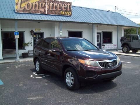 2011 Kia Sorento for sale at LONGSTREET AUTO in St Augustine FL