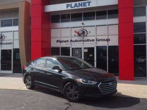 2018 Hyundai Elantra for sale at Planet Automotive Group in Charlotte NC