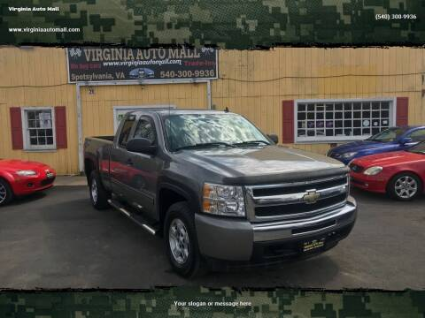 2009 Chevrolet Silverado 1500 for sale at Virginia Auto Mall in Woodford VA