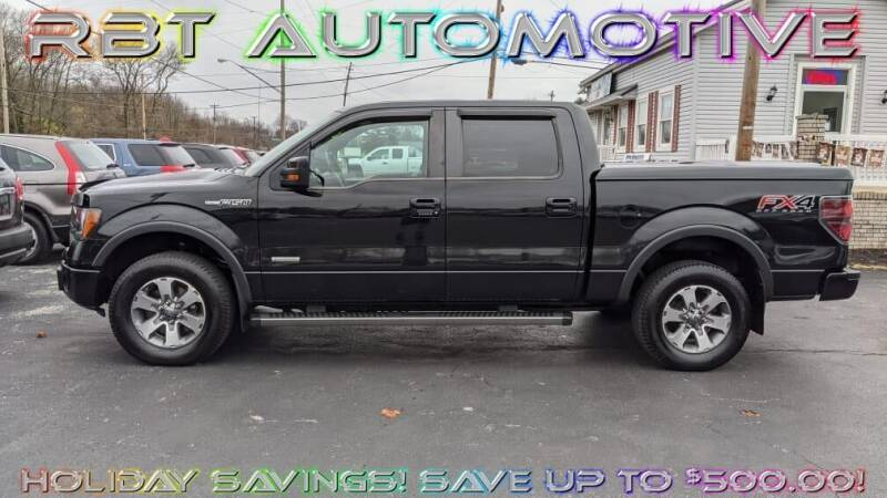 2012 Ford F-150 for sale at RBT Automotive LLC in Perry OH