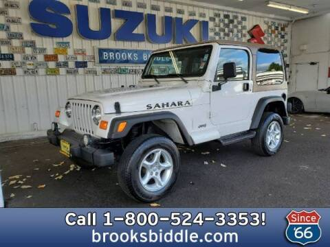 2000 Jeep Wrangler for sale at BROOKS BIDDLE AUTOMOTIVE in Bothell WA