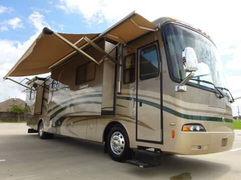 2007 Monaco/ Holiday Rambler  Endeavor 40, 4 Slides,  400hp for sale at Top Choice RV in Spring TX