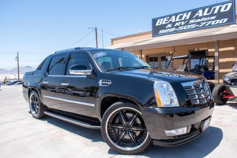 2007 Cadillac Escalade EXT for sale at Beach Auto and RV Sales in Lake Havasu City AZ