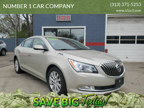 2014 Buick LaCrosse for sale at NUMBER 1 CAR COMPANY in Detroit MI