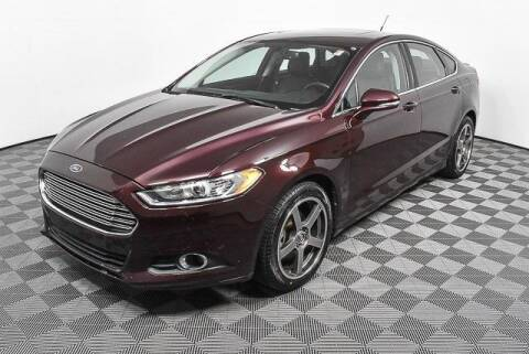 2013 Ford Fusion for sale at CU Carfinders in Norcross GA