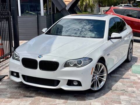 2015 BMW 5 Series for sale at Unique Motors of Tampa in Tampa FL