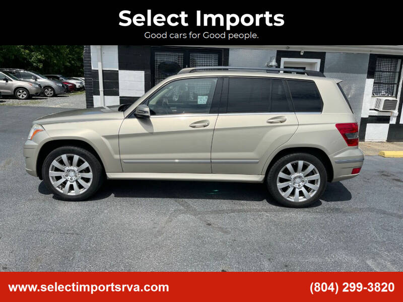 2011 Mercedes-Benz GLK for sale at Select Imports in Ashland VA