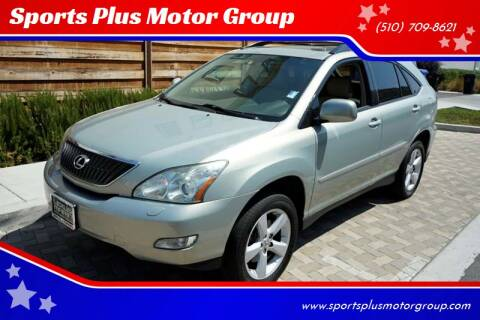 2007 Lexus RX 350 for sale at Sports Plus Motor Group LLC in Sunnyvale CA