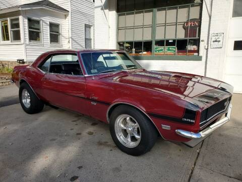 1968 Chevrolet Camaro for sale at Carroll Street Auto in Manchester NH