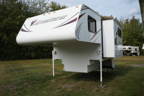2015 Adventurer 86SBS for sale at Polar RV Sales in Salem NH