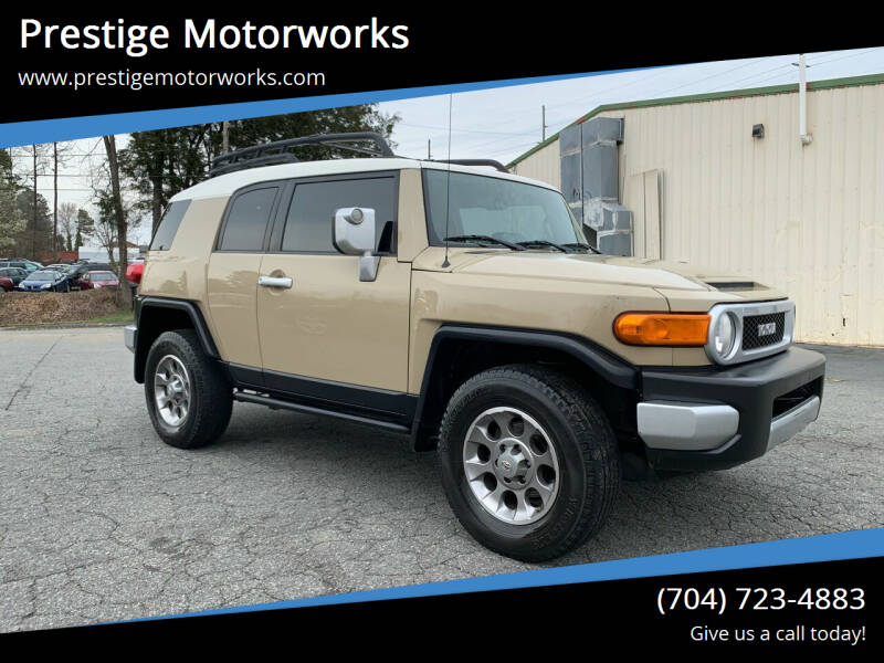2011 Toyota FJ Cruiser for sale at Prestige Motorworks in Concord NC