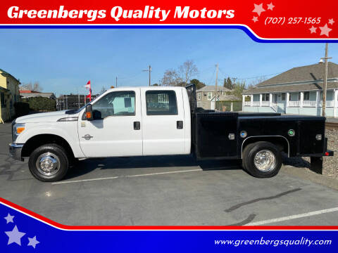 2016 Ford F-350 Super Duty for sale at Greenbergs Quality Motors in Napa CA