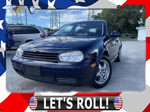2003 Volkswagen Golf for sale at Das Autohaus Quality Used Cars in Clearwater FL