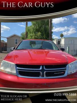 2014 Dodge Avenger for sale at The Car Guys in Tucson AZ