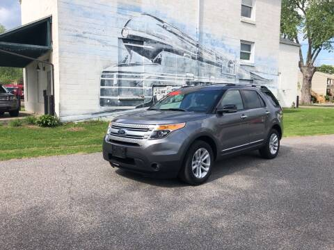 2013 Ford Explorer for sale at PUTNAM AUTO SALES INC in Marietta OH