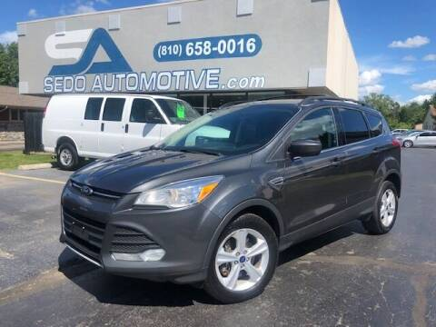 2015 Ford Escape for sale at Sedo Automotive in Davison MI