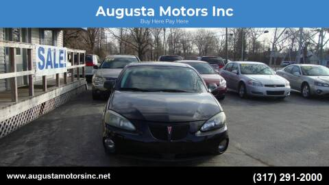 2007 Pontiac Grand Prix for sale at Augusta Motors Inc in Indianapolis IN