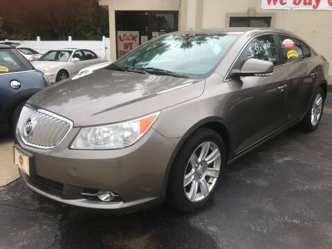 2011 Buick LaCrosse for sale at BORGES AUTO CENTER, INC. in Taunton MA