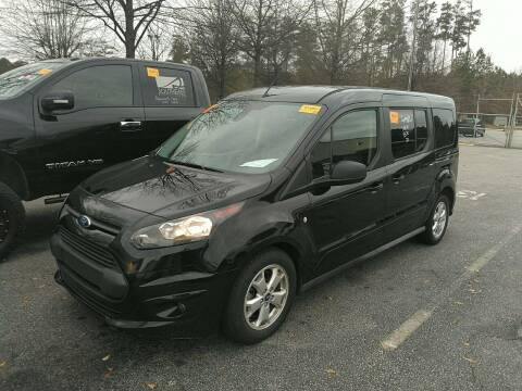 2015 Ford Transit Connect Wagon for sale at Wheel Tech Motor Vehicle Sales in Maylene AL