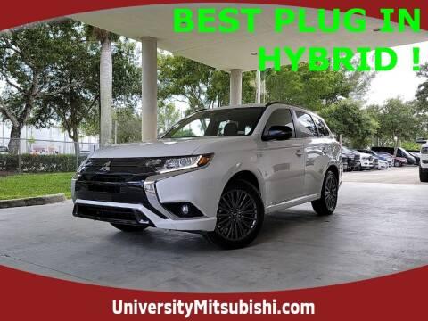 2022 Mitsubishi Outlander PHEV for sale at University Mitsubishi in Davie FL