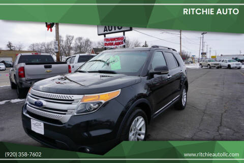 2011 Ford Explorer for sale at Ritchie Auto in Appleton WI
