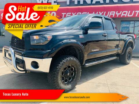 2008 Toyota Tundra for sale at Texas Luxury Auto in Cedar Hill TX