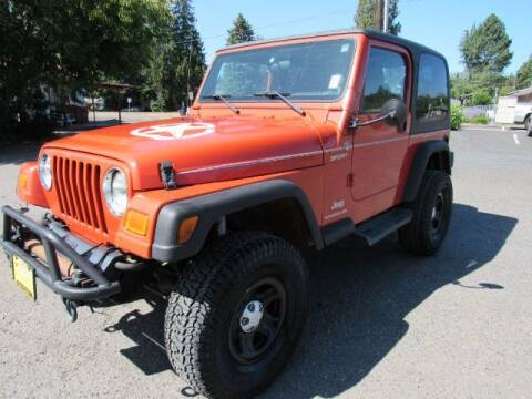 2005 Jeep Wrangler for sale at Triple C Auto Brokers in Washougal WA