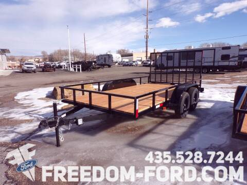 2021 FF OFFROAD 7x14  Tandem Axle for sale at Freedom Ford Inc in Gunnison UT