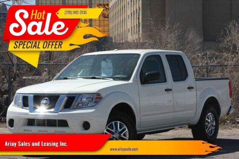 2015 Nissan Frontier for sale at Ariay Sales and Leasing Inc. - Pre Owned Storage Lot in Glendale CO